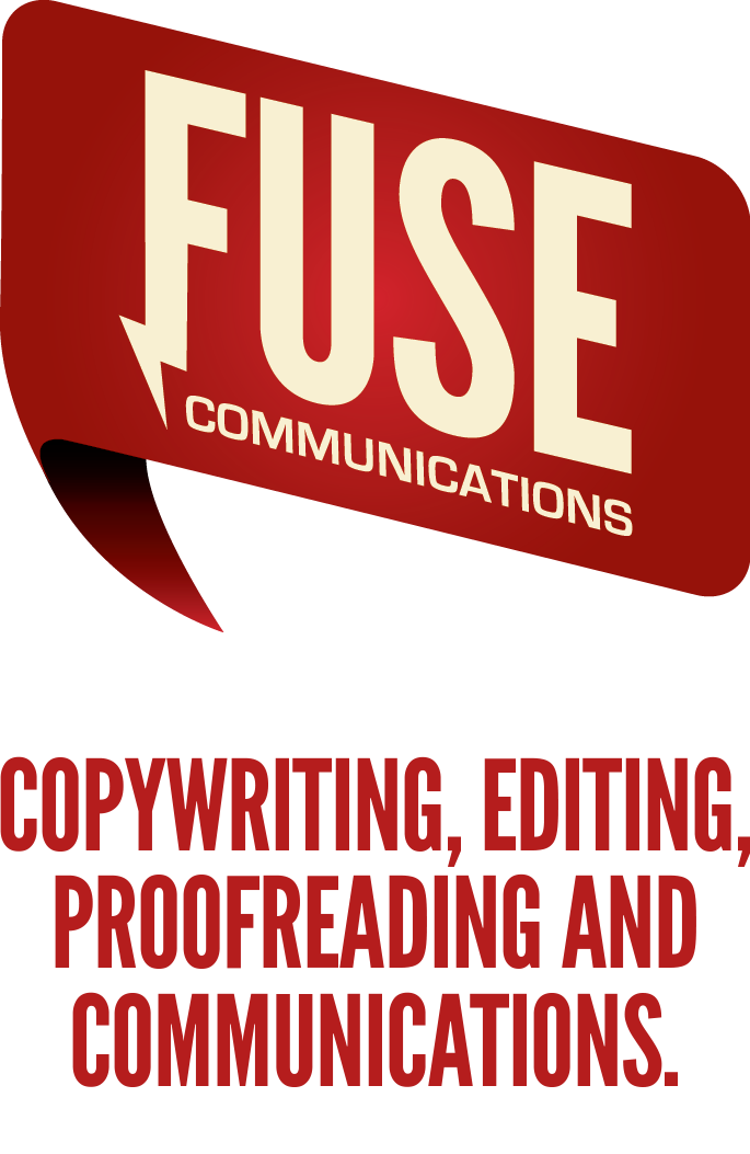 Fuse Communications: Copywriting, editing, proofreading and communications